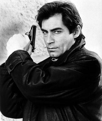 Timothy Dalton actor as Bond  July 1988 dbase MSI